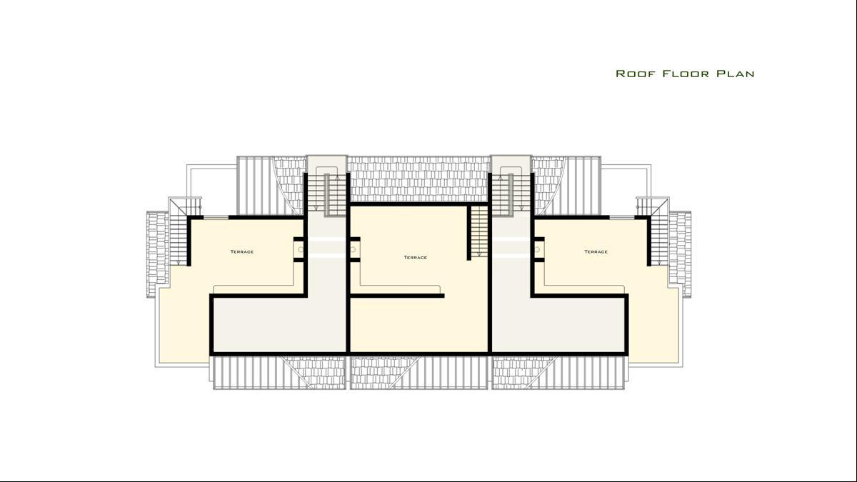 Floor plan roof terrace